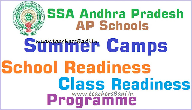 Summer Camps,School-Class Readiness Programme,AP Schools 2016