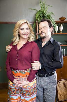 O prefeito Olegário e sua mulher, Socorro — Foto: Globo/Marcos Rosa