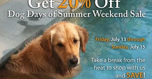 Dog Days Of Summer 2020.Stonewall Kitchen Dog Days Of Summer Sale Save 20 Online