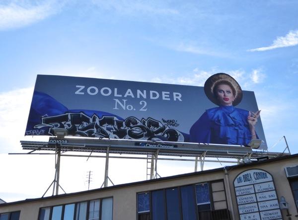 Kristen Wiig Zoolander 2 Alexanya Atoz billboard