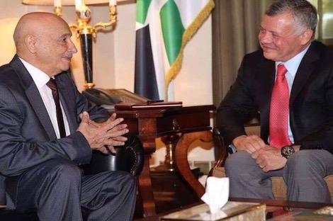 العاهل الأردني يجدد دعم الحل السياسي بليبيا