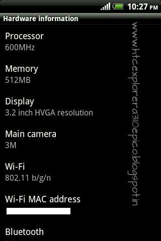 Pdf a310e user htc explorer manual