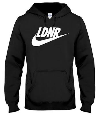 LDNR Nike Hoodie Sweatshirt Jacket Sweater