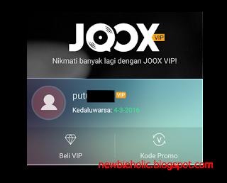 Cara Mendapatkan Akun Member VIP JOOX Secara Gratis Terbaru cover