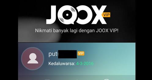 Cara Mendapatkan Akun Member Vip Joox Secara Gratis Terbaru