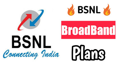 BSNL REVISES ITS BROADBAND PLANS TO लेना जीआई GIGAFIBER AND एयरटेल V-FIBER