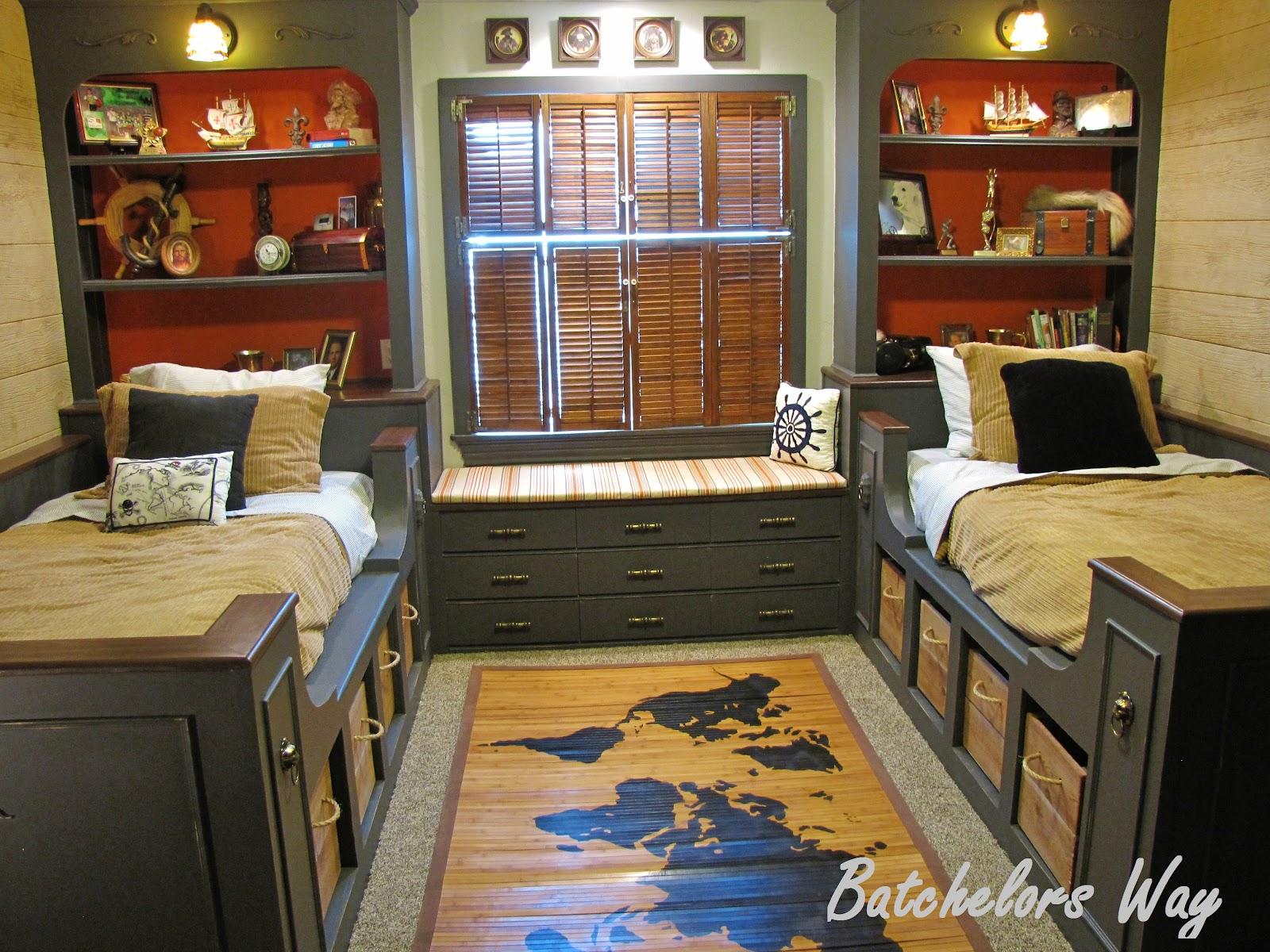 batchelors way: pirate room reveal!!