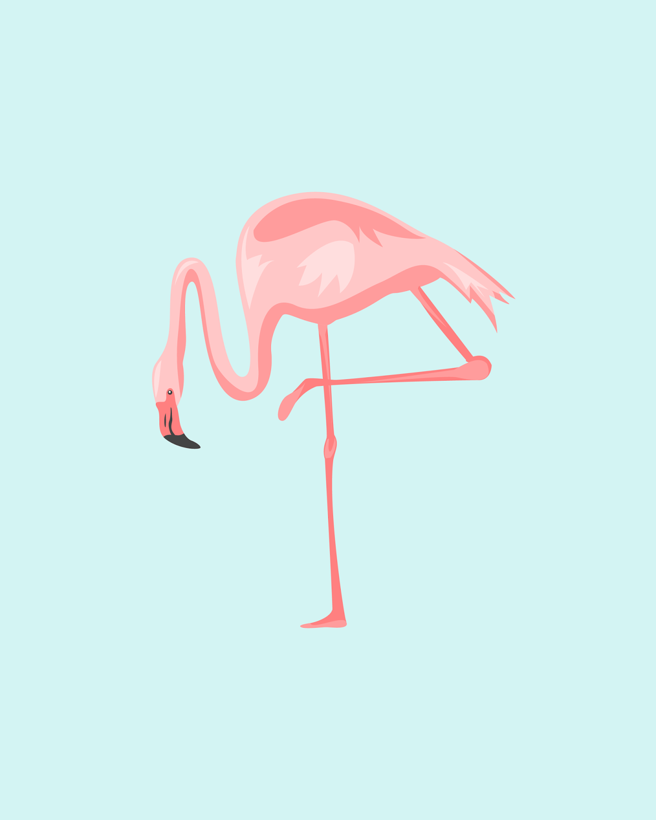Freebies Pretty In Pink Flamingos Oh So Lovely Blog