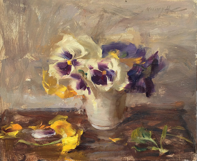 American Impressionist Oil Paintings