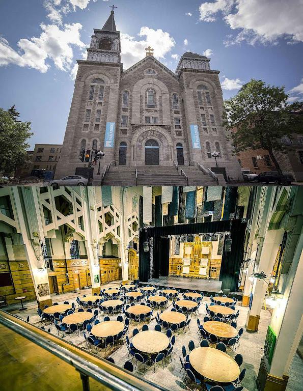 A igreja de Nossa Senhora do Perpétuo Socorro de Montreal foi transformada no Teatro Paradoxe.