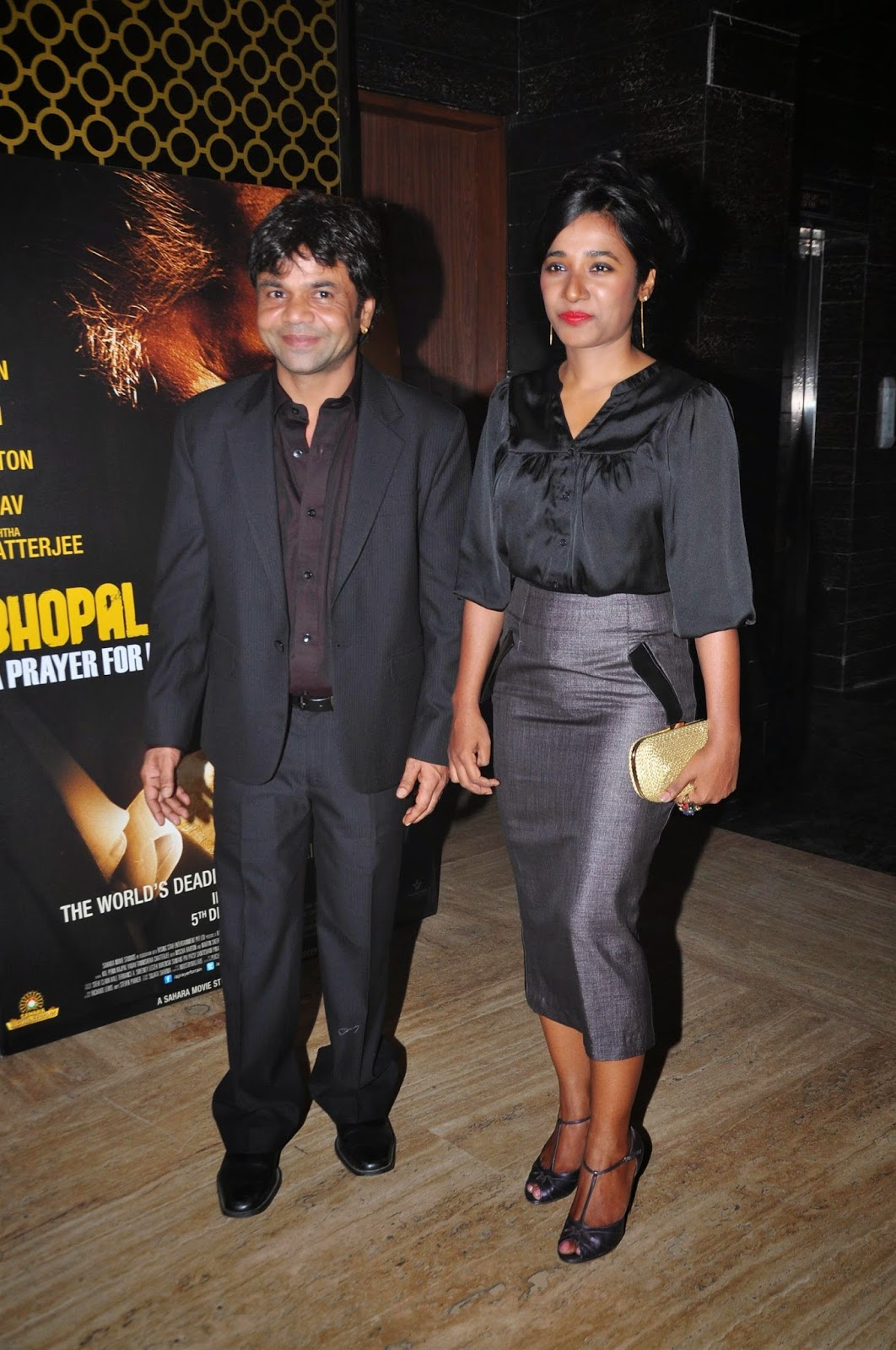Bollywood Celebrities at  Premiere of 'Bhopal: A Prayer For Rain'