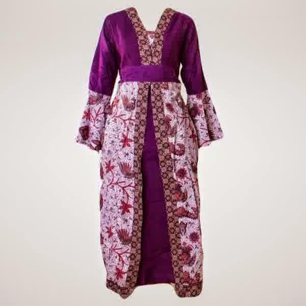 Batik Semarang Tips Memilih Model Gamis Batik Kombinasi Untuk Orang