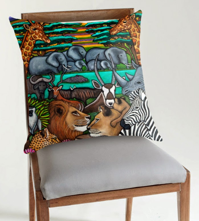 http://www.redbubble.com/people/lisalorenz/works/12103276-colours-of-africa?c=30634-travel-series&p=throw-pillow