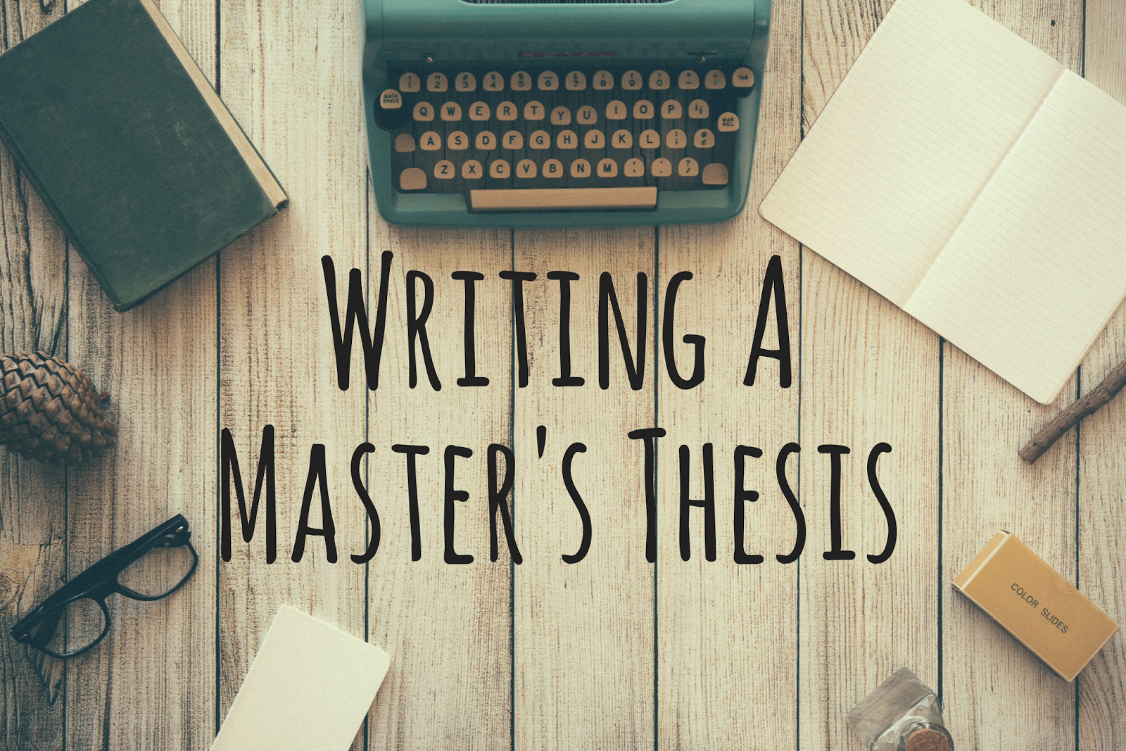 How write master thesis