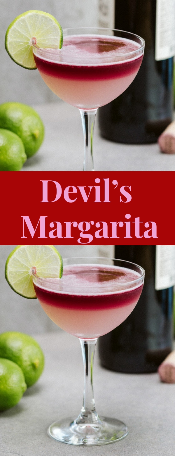 Devil's Margarita #COCKTAIL #SOFTDRINK