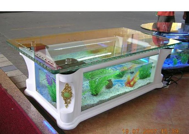 fish tank living room table amazing aquarium tables for your living room bahay ofw 18649