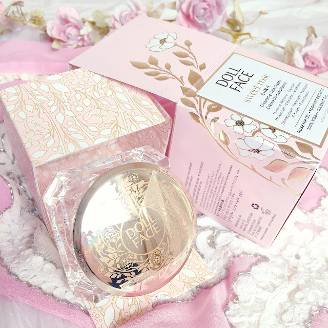 Doll Face Beauty Sweet Rose Cleanser   QVC UK