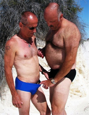 Hairy faces daddy naked photo gay luckily 6