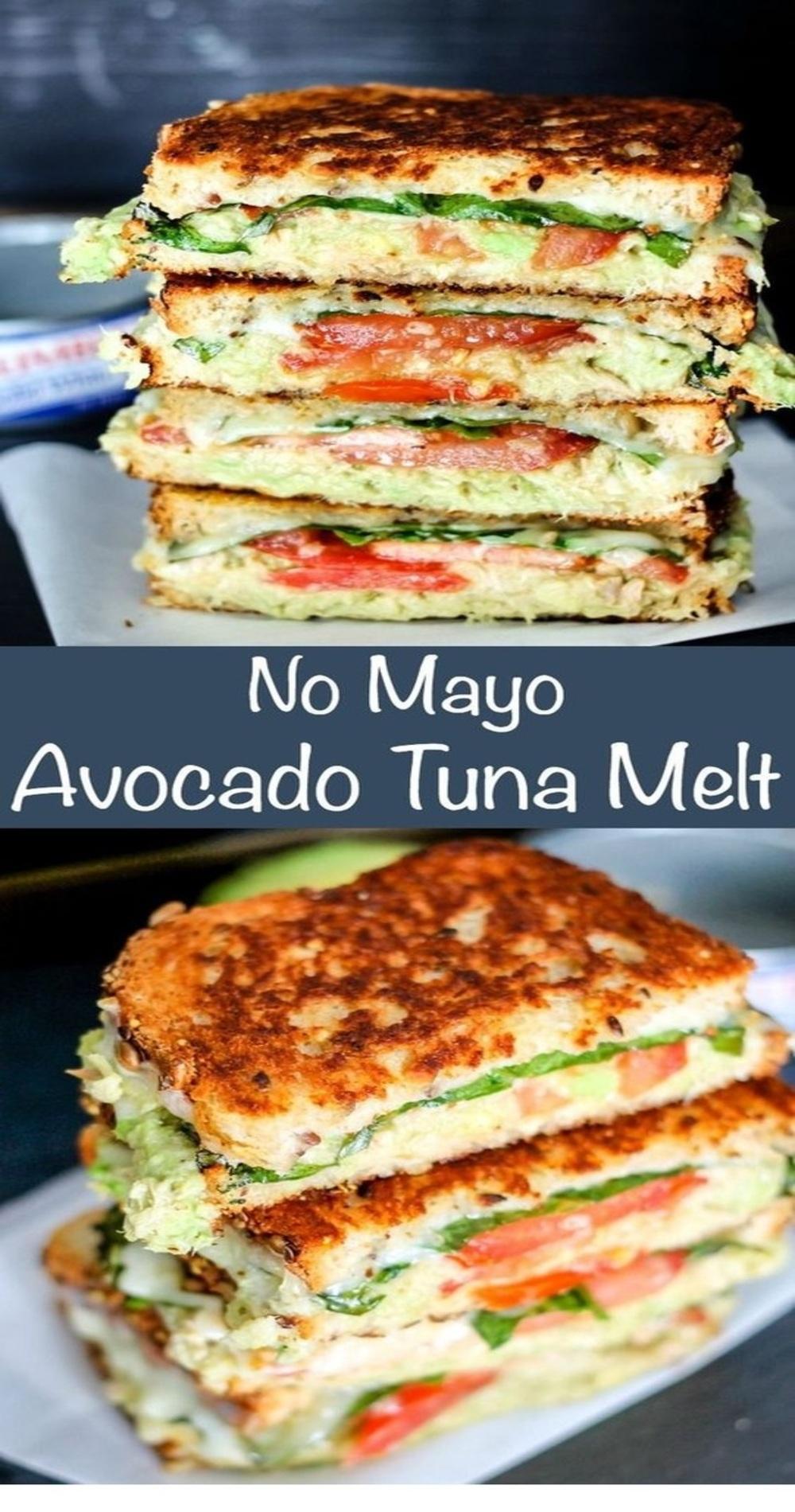 No May Avocado Tuna Melt