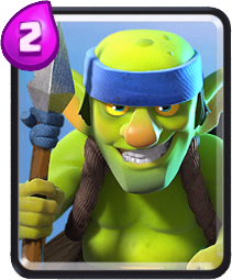 Goblins Lanceiros Clash Royale