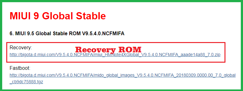 Miui Recovery Rom