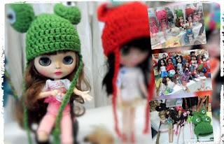 muñecas blythe en el desembalaje de antiguedades del bilbao exhibition center