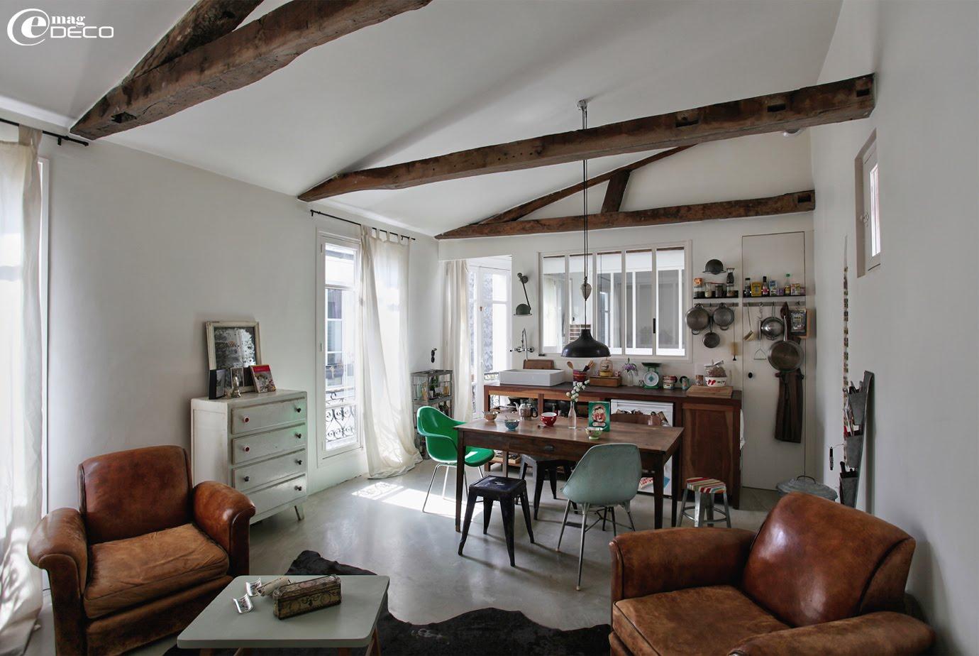 transparence et esprit brocante e magdeco magazine de d coration. Black Bedroom Furniture Sets. Home Design Ideas