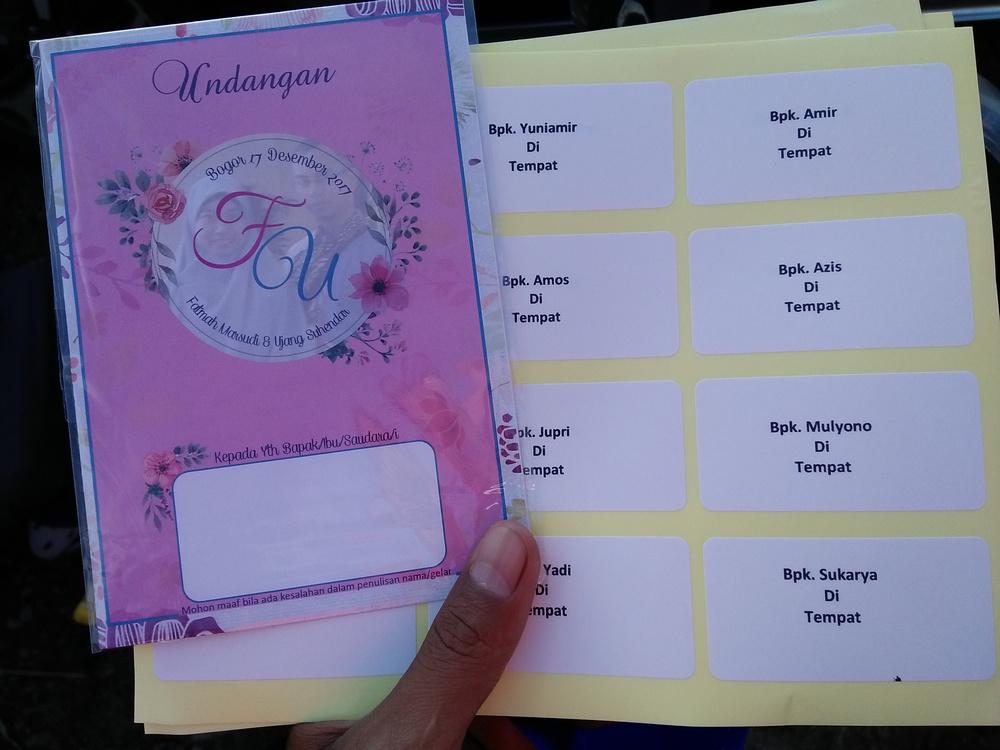 Cara Mudah Membuat Kartu Undangan Pernikahan Dengan