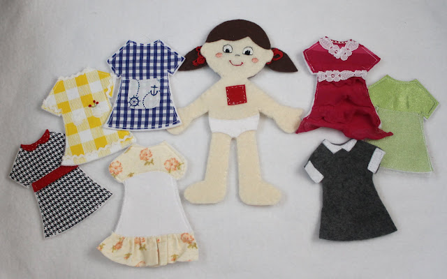 Felt Paper Dolls Peek A Boo Pages Patterns Fabric Amp More