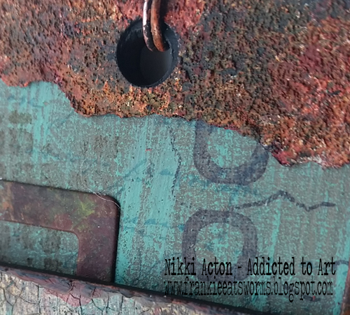 Textured Rust - Seth Apter PaperArtsy Paint - Thats Crafty Surfaces