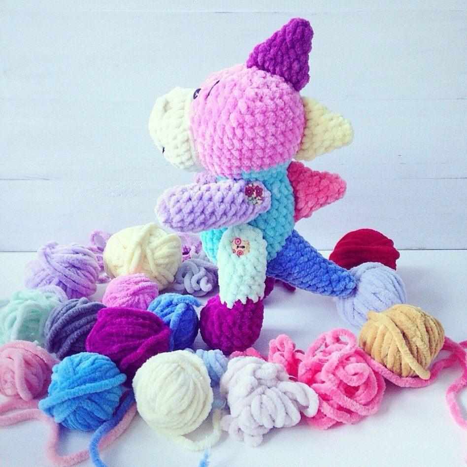 Amigurumi dinosaur crochet pattern | Crochet dinosaur, Crochet ... | 948x948