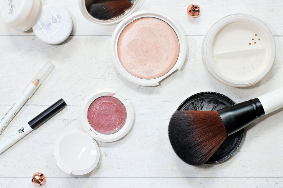 A selection of cruelty free beauty products