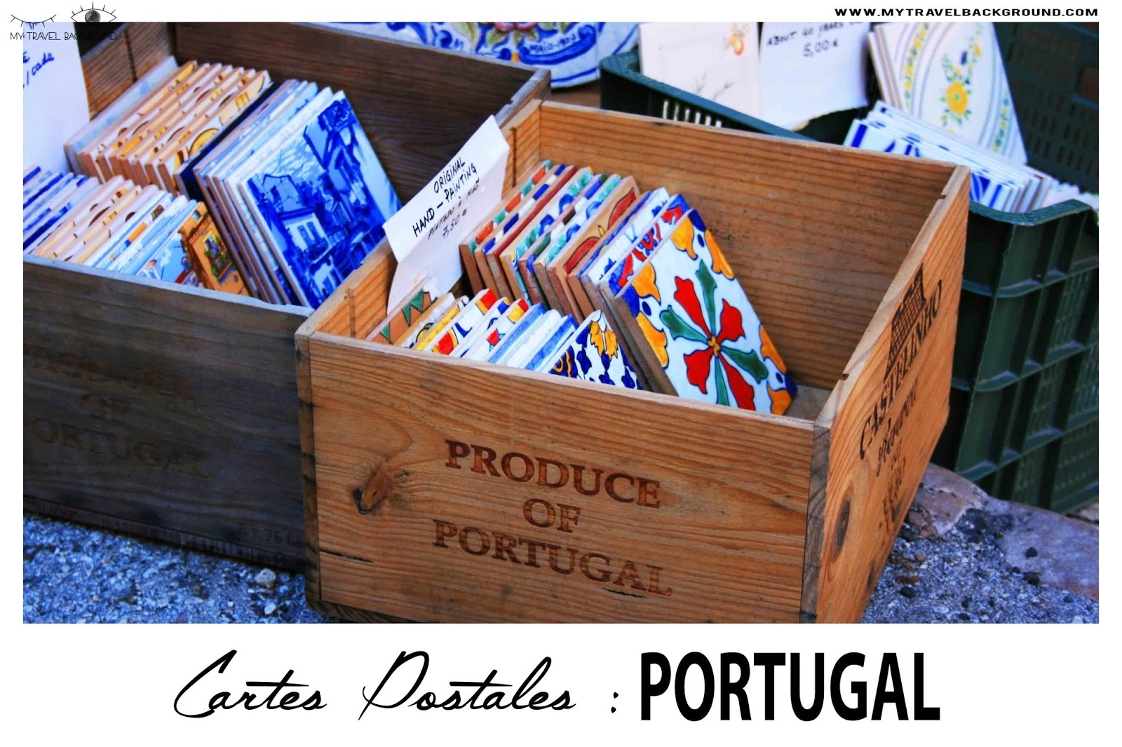 My Travel Background : Cartes Postale Portugal