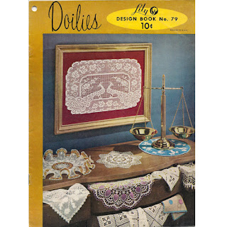 Doilies Crochet Pattern Book 79 from Lily Mills