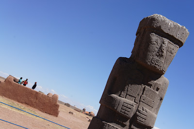 Sightseeing in Bolivia: Tiwanaku