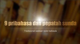 9 pribahasa dan pepatah bahasa sunda TRADISIONAL warisan kolot baheula (Nenek moyang)