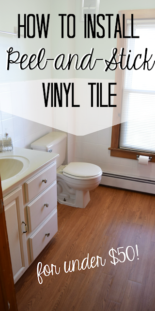 DIY Peel and Stick Vinyl Plank Floors How to