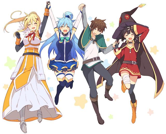 Konosuba anime