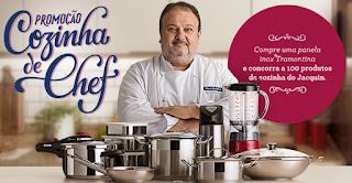 """Promoção """"Cozinha de Chef Tramontina"""" Blog topdapromocao.com.br"""