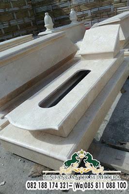 Model Kuburan Dari Batu Alam, Jual Kijing Mataram
