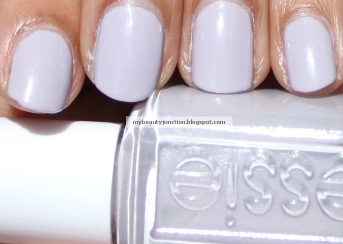 Manicure Stamping Nail Art With Essie St Lucia Lilac And