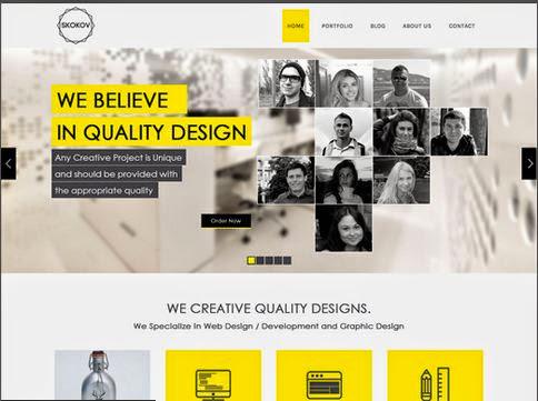 Skokov Corporate HTML5 Template