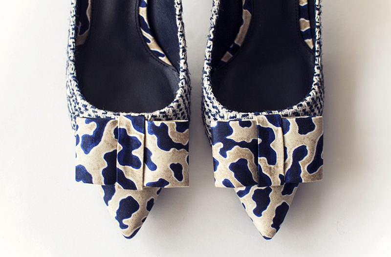 Tory Burch Cleo tweed pumps