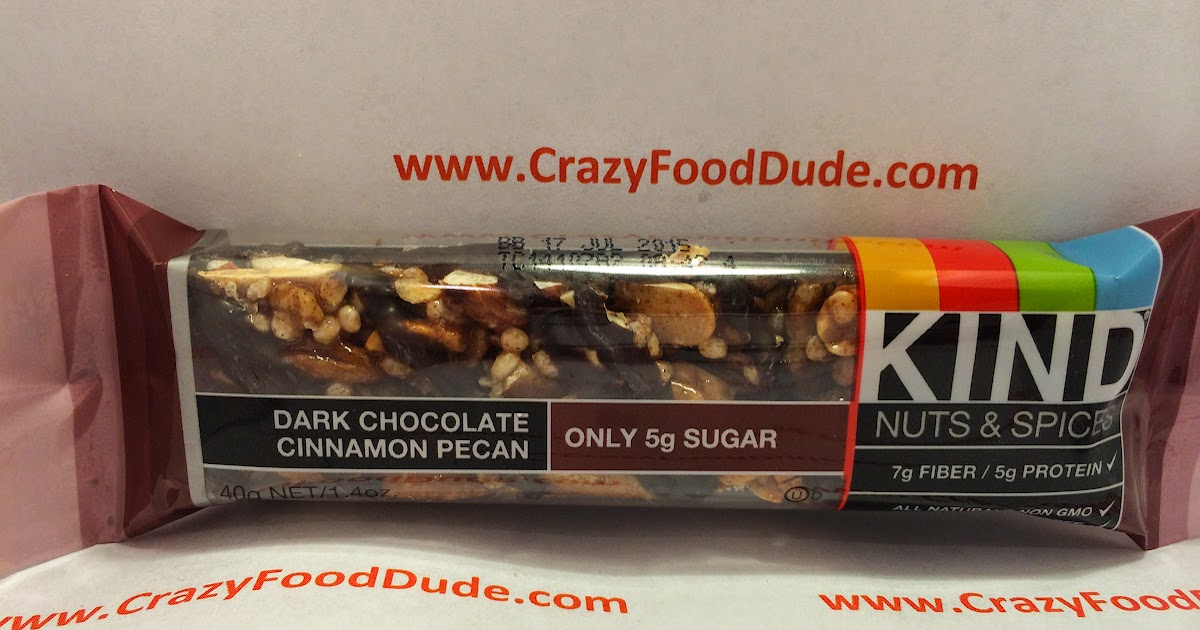 Crazy Food Dude Review KIND Nuts amp Spices Dark Chocolate