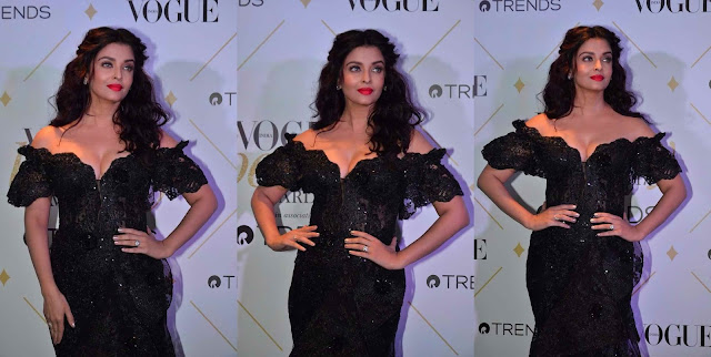 Aishwarya Rai Hot Photos at Vogue Beauty Awards 2017