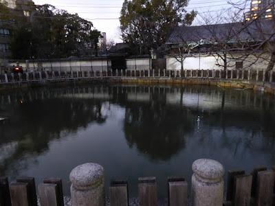 四天王寺  丸池