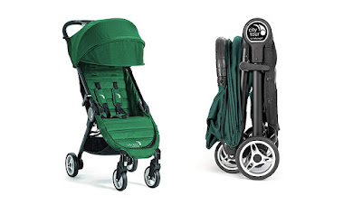 the Baby Jogger City Tour travel stroller, 2 different configurations, Kidsland