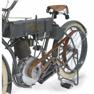 Xe cổ Harley Davidson 1908 Model 4 439cc