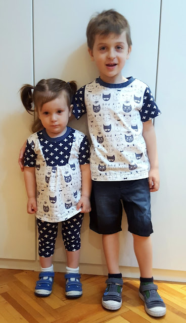 brother and sister matching outfits