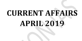Vision IAS Current Affairs April 2019 - Download PDF